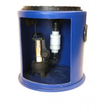 190Ltr Single Sewage Pump Station, Ideal for extensions, Kitchens, Single w/c's and Annex's