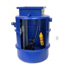 1000Ltr Dual Sewage Pump Station 10m head, Ideal for houses with upto 5 Bedrooms