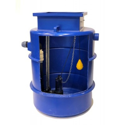 1000Ltr Single Sewage Pump Station 10m head, Ideal for houses with upto 5 Bedrooms