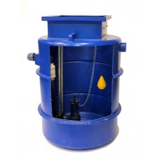 1000Ltr Single Sewage Pump Station 6m head, Ideal for houses with upto 5 Bedrooms
