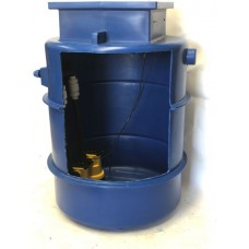 1000Ltr Storm and Grey Water Twin Pump Station, Ideal for Cellars, Light well and Basements. Single 6m head pump