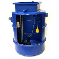 1200Ltr Sewage Single Macerator Pump Station, Ideally sized for dwellings up to 5/6 bedrooms, annex's and extensions