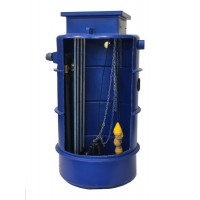 1700Ltr Sewage Dual Macerator Pump Station, Ideally sized for dwelling or multiple dwellings up to 10/11 bedrooms and commercial properties