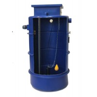 1700Ltr Sewage Single Macerator Pump Station, Ideally sized for dwelling or Dwellings up to 10/11 bedrooms