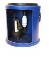 190Ltr Single Macerator Sewage Pump Station, Ideal for extensions, Kitchens, Single w/c's and Annex's