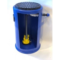 300Ltr Storm and Grey Water Single Pump Station, Ideal For Cellars, Basements and Light Wells